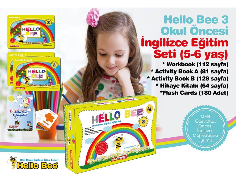 Hello Bee 3 Okul Oncesi Ingilizce Egitim Seti