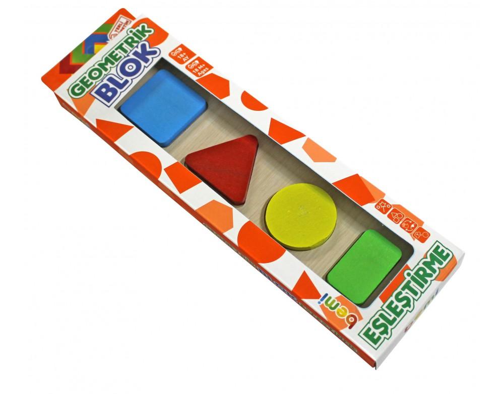 Geometrik Blok Eşleştirme Dörtlü