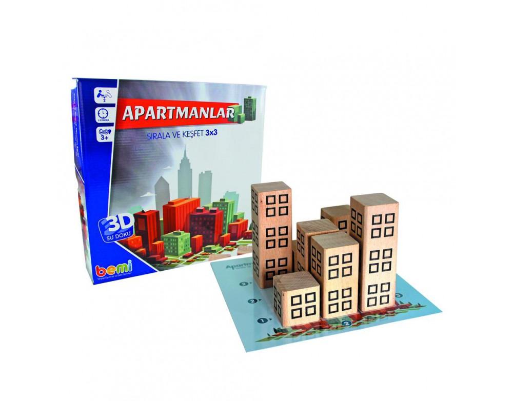 Apartmanlar 3D Sudoku